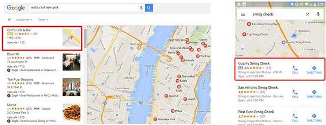 Annonces Google AdWords dans Google Map - Soyez 1er ! on