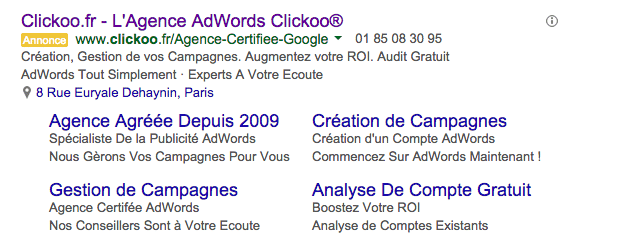Annonce Clickoo