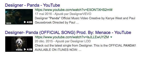 Apparaitre sur google grâce à des vidéos YouTube