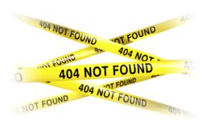 Qu'est ce qu'une erreur 404