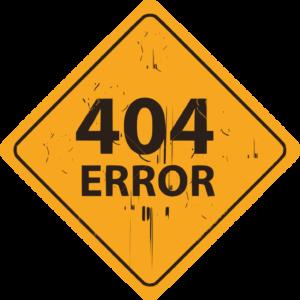 corriger les erreurs 404