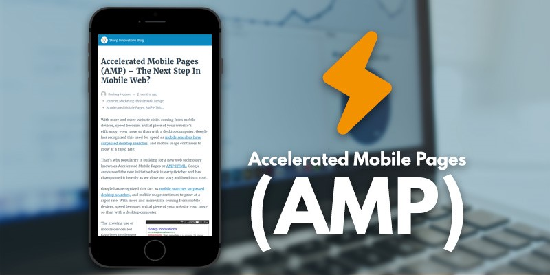 AMP: accelerate mobile page