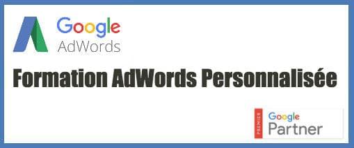 formation adwords personnalisées
